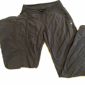 Lululemon dance studio pants unlined